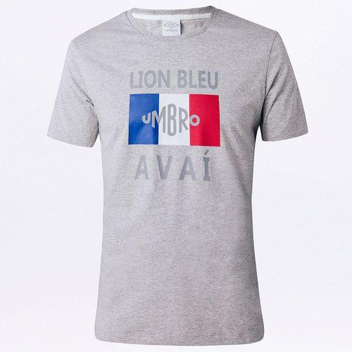 Camiseta Masculina Torcedor Avaí Lion Bleu