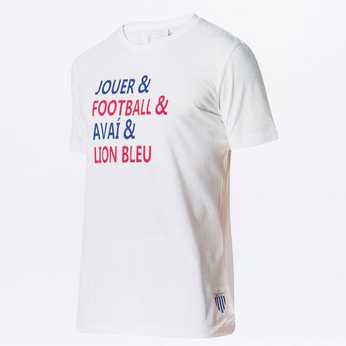 Camiseta Masculina Torcedor Avaí Lettering
