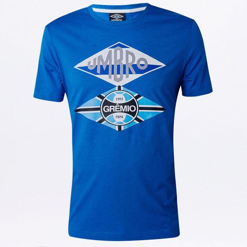 Camiseta Masculina Torcedor Grêmio Flag