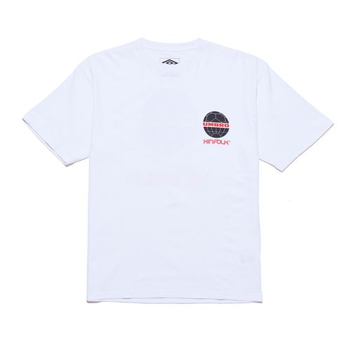 Camiseta Masculina Kinfolk X Umbro Global